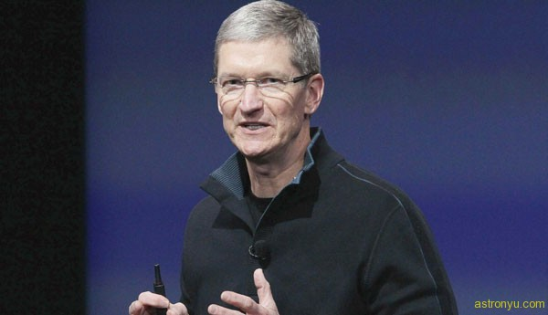 Tim Cook Giving Speech