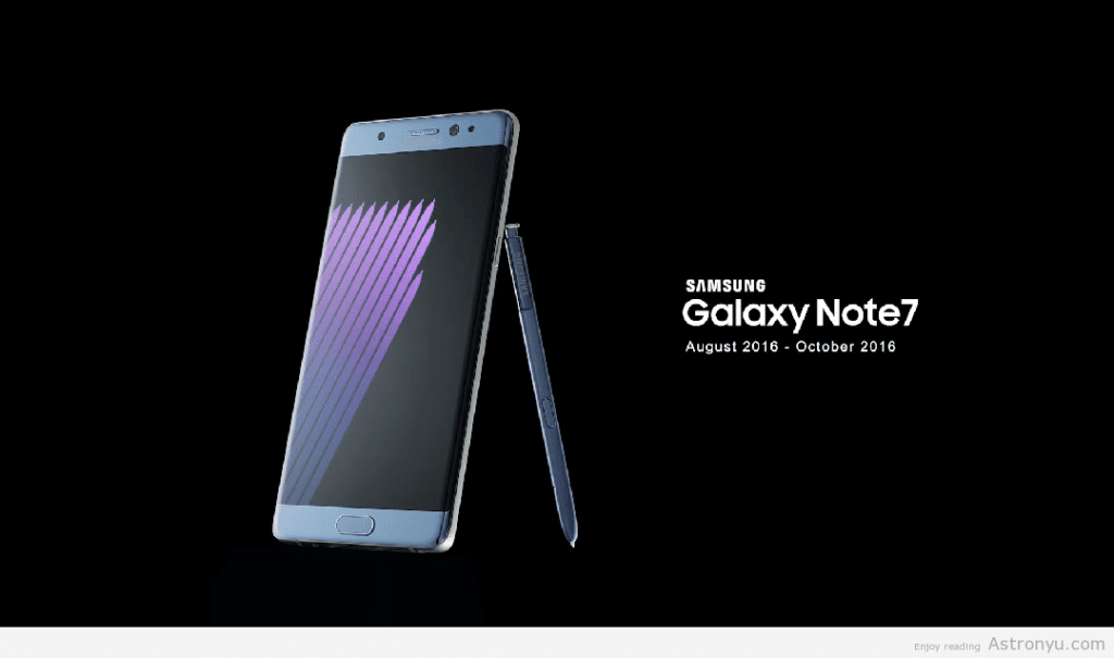 galaxy note 7 orbituary