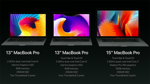 three-macbook-pros-spec