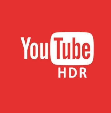 youtube hdr high dynamic range