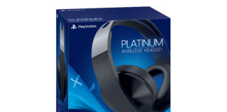 platinum wireless headsets box
