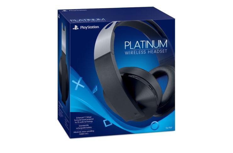 platinum wireless headsets box